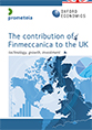 The Contribution of Finmeccanica to the UK