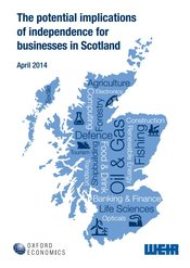 The potential implications of independence for businesses in Scotland