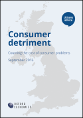 Consumer detriment: Counting the cost of consumer problems