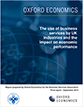 The use of business services by UK industries and the impact on economic performance